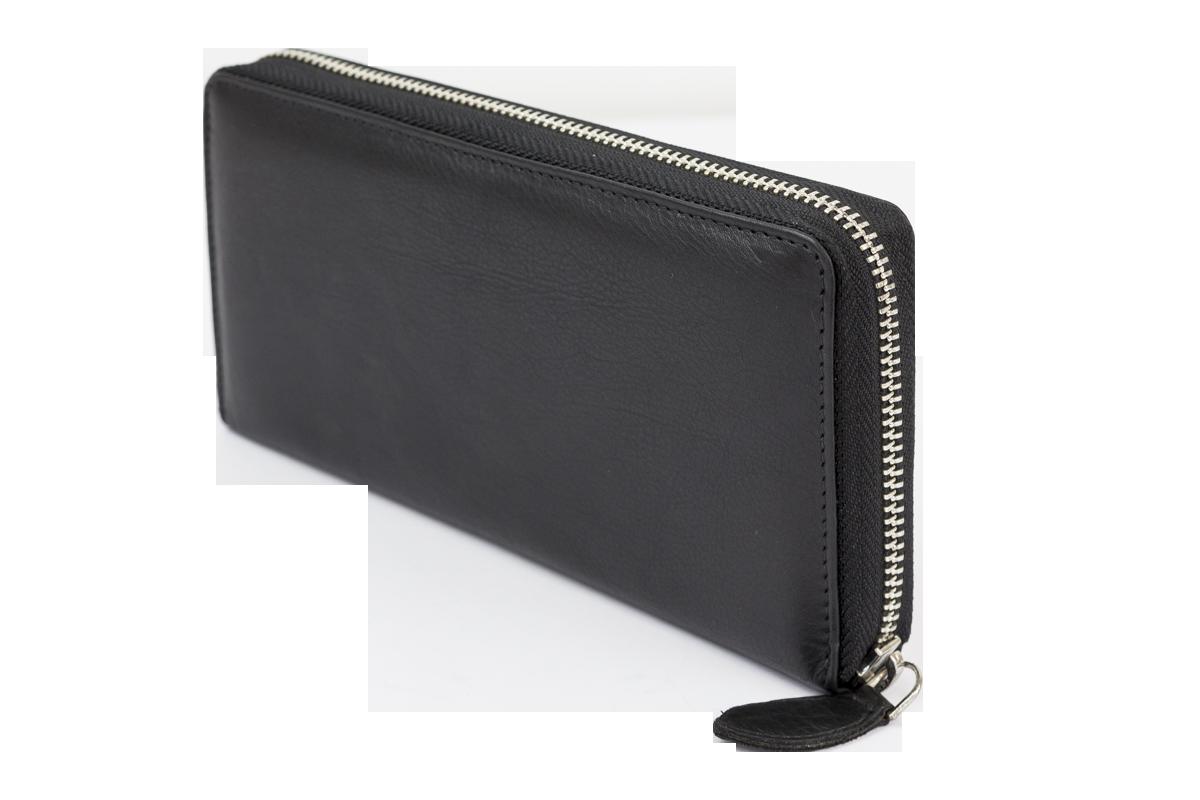 4d7394f61a82f LEAS Große Vollleder Damen Geldbörse mit RFID Schutz Reißverschluss  rundherum Damenlangbörse Portemonnaie Brieftasche lang Echt-